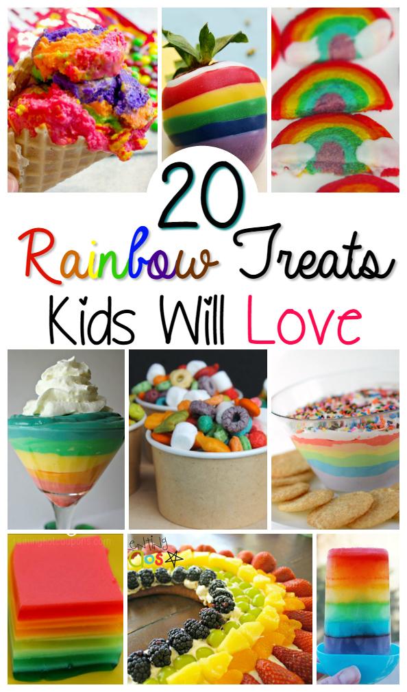 20 Rainbow Treats Kids Will Love