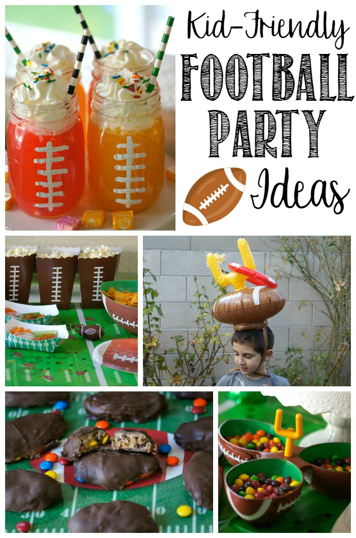 Football Party Ideas for Kids for the Big Game