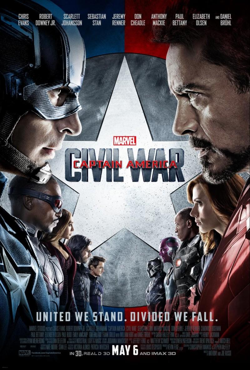 Captain America- Civil War Final Poster