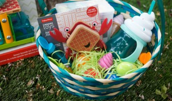 Easter Basket Ideas {Featuring Fisher-Price Wooden Toys!}