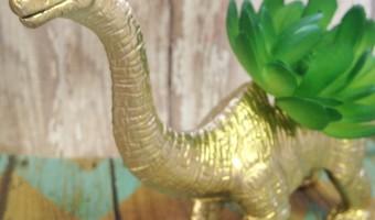 DIY Dinosaur Planter Decoration