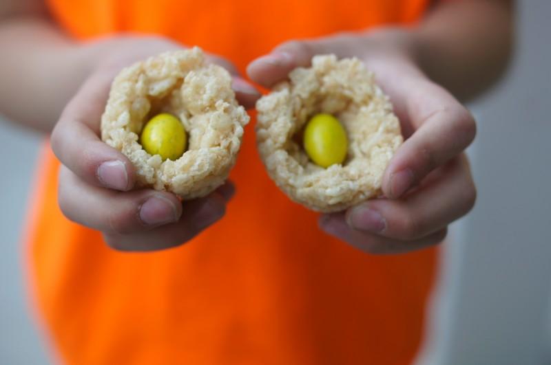 Rice Krispies Surprise Egg