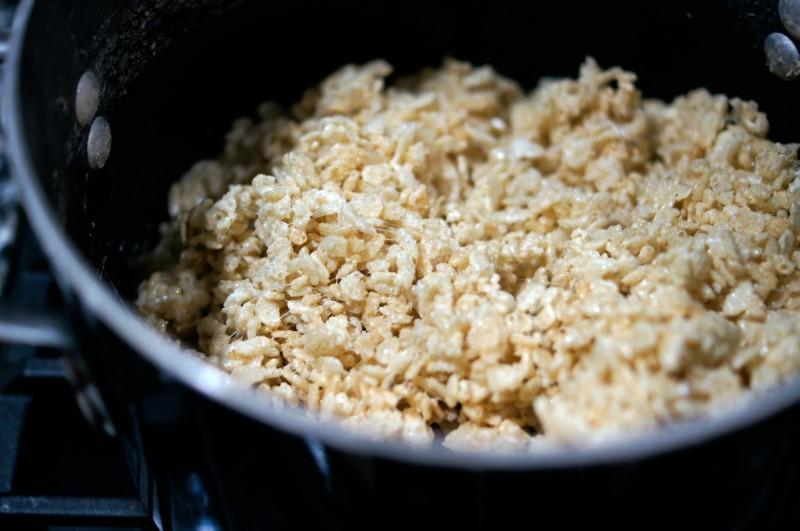 Rice Krispies Treats Step 4