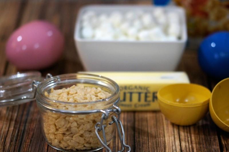 Rice Krispies Treats Suprise Eggs Ingredients