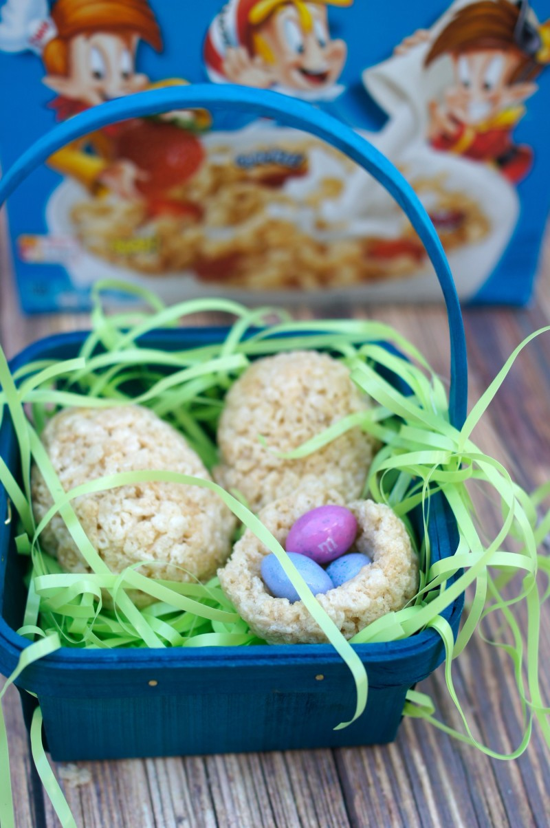 Rice Krispies Treats for Easter