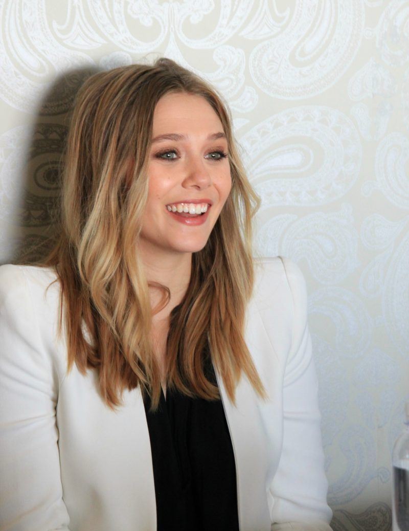 Elizabeth Olsen, Scarlet Witch in Captain America: Civil War