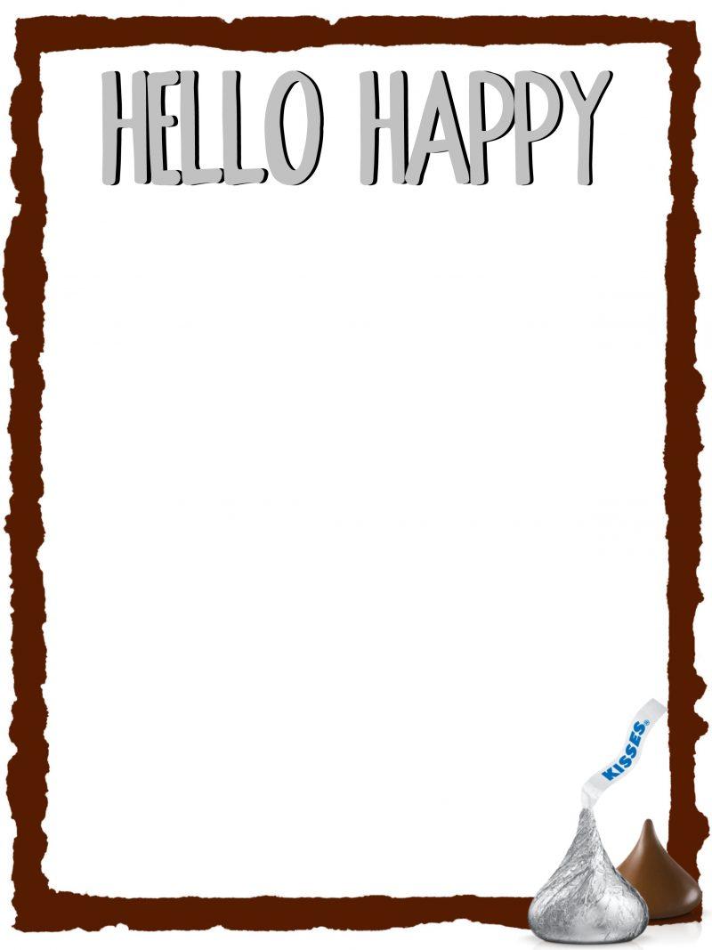 Hello Happy Doodle Page