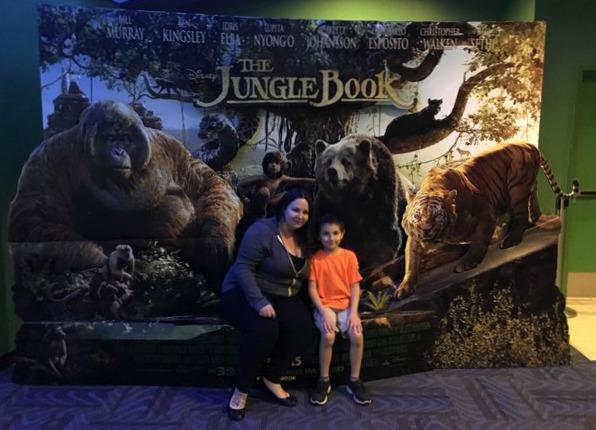 Shane and I at The Jungle Book