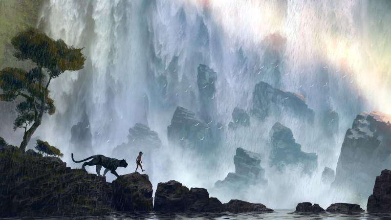 Disney's The Jungle Book..Conceptual Artwork..©Disney 2015