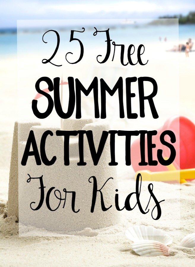 Summer break is great for families- until children run out of things to do and parents run out of ideas! Check out this list for free activities you can do with your kids all summer long, like outdoor science experiments, crafts, and even learning activities. Add these items to your bucket lists! #Summer #kids #free