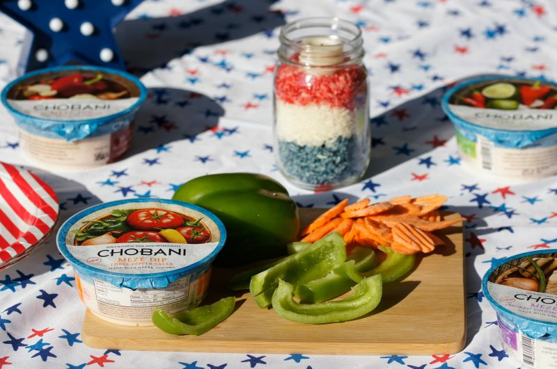 Chobani Meze Dip for Memorial Day- 4 varieties