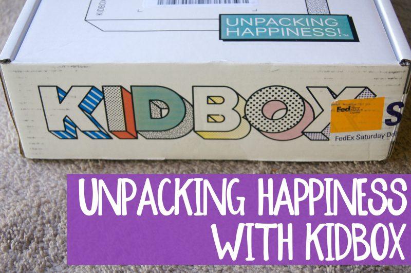 Unpacking Happiness with Kidbox