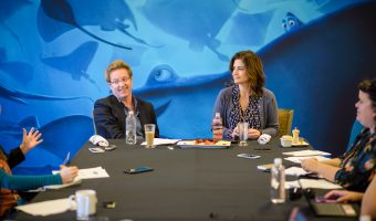 Exclusive Interview with Director Andrew Stanton and Producer Lindsey Collins of Finding Dory