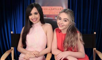 Exclusive Interview with Sofia Carson and Sabrina Carpenter of Adventures in Babysitting!