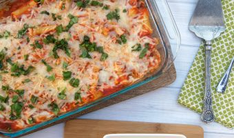 Easy, Cheesy Baked Ziti Recipe