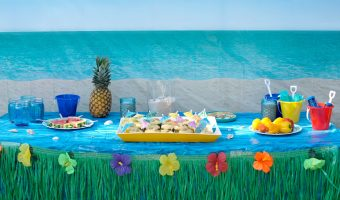Backyard Beach Party Ideas!