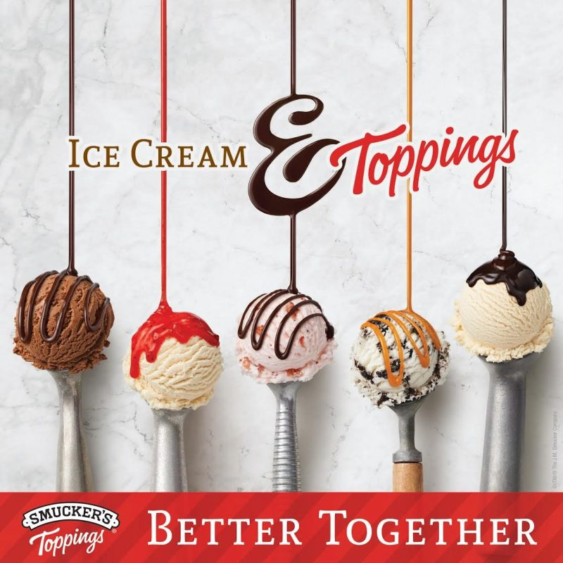 Smucker's Toppings and Ice Cream