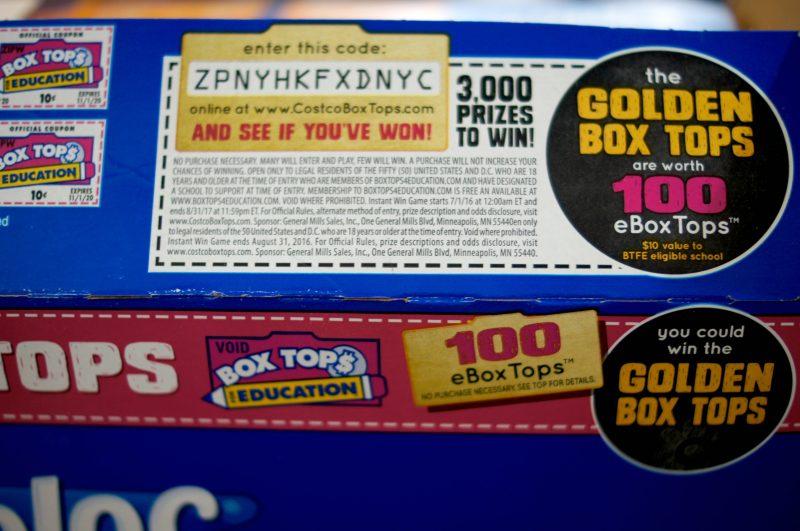 Golden Box Tops Code