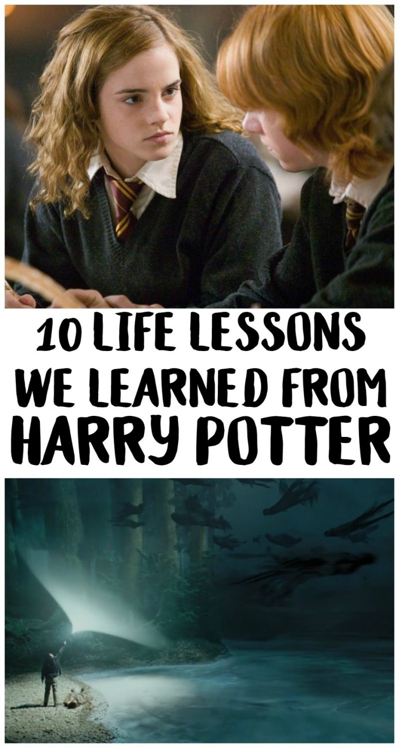 Whether you took away the funny moments at Hagrid's house or the inspiring quotes throughout the series, Harry Potter had a lot of life lessons to teach! Check out ten of the most important lessons we took away from the series from characters like Hermione, Ron, Dumbledore, Lupin, Sirius, and more.