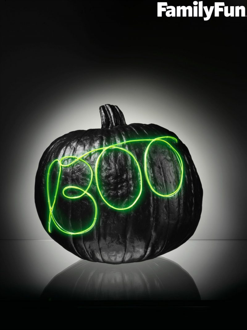 If youu0027re looking for easy and creative no carve pumpkin decorating ideas for kids & 4 Easy No Carve Glow-in-the-Dark Pumpkin Decorating Ideas - Not ...
