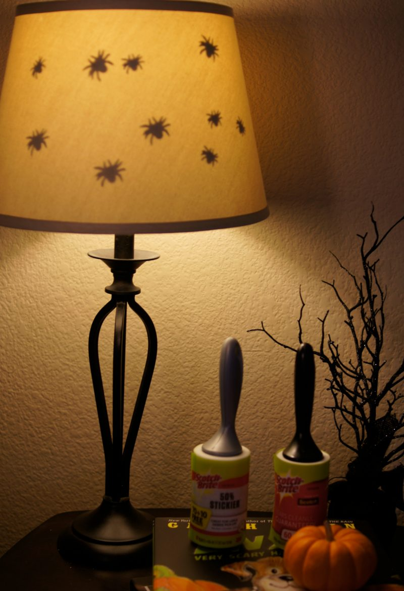 Easy Diy Spooky Halloween Lamp Tutorials Not Quite