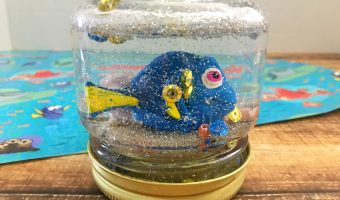 DIY Finding Dory Snowglobe