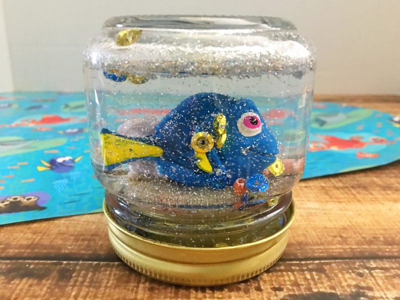 If you loved Finding Dory as much as I did, you'll love this DIY Snow Globe! Perfect for celebrating this funny movie during the holidays, at a birthday party, or year-round, this is one easy Finding Dory craft!