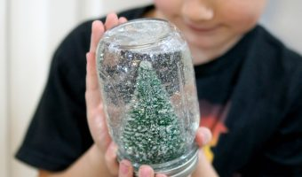 Easy DIY Snowglobe