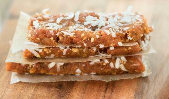 Apricot Cashew Coconut Breakfast Bars Recipe