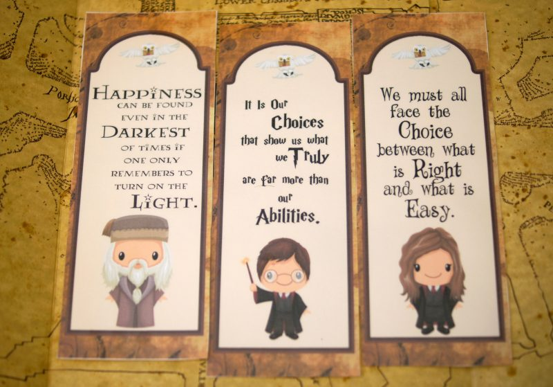 image regarding Printable Harry Potter Bookmarks called Totally free Printable Harry Potter Bookmarks - Not Very Susie