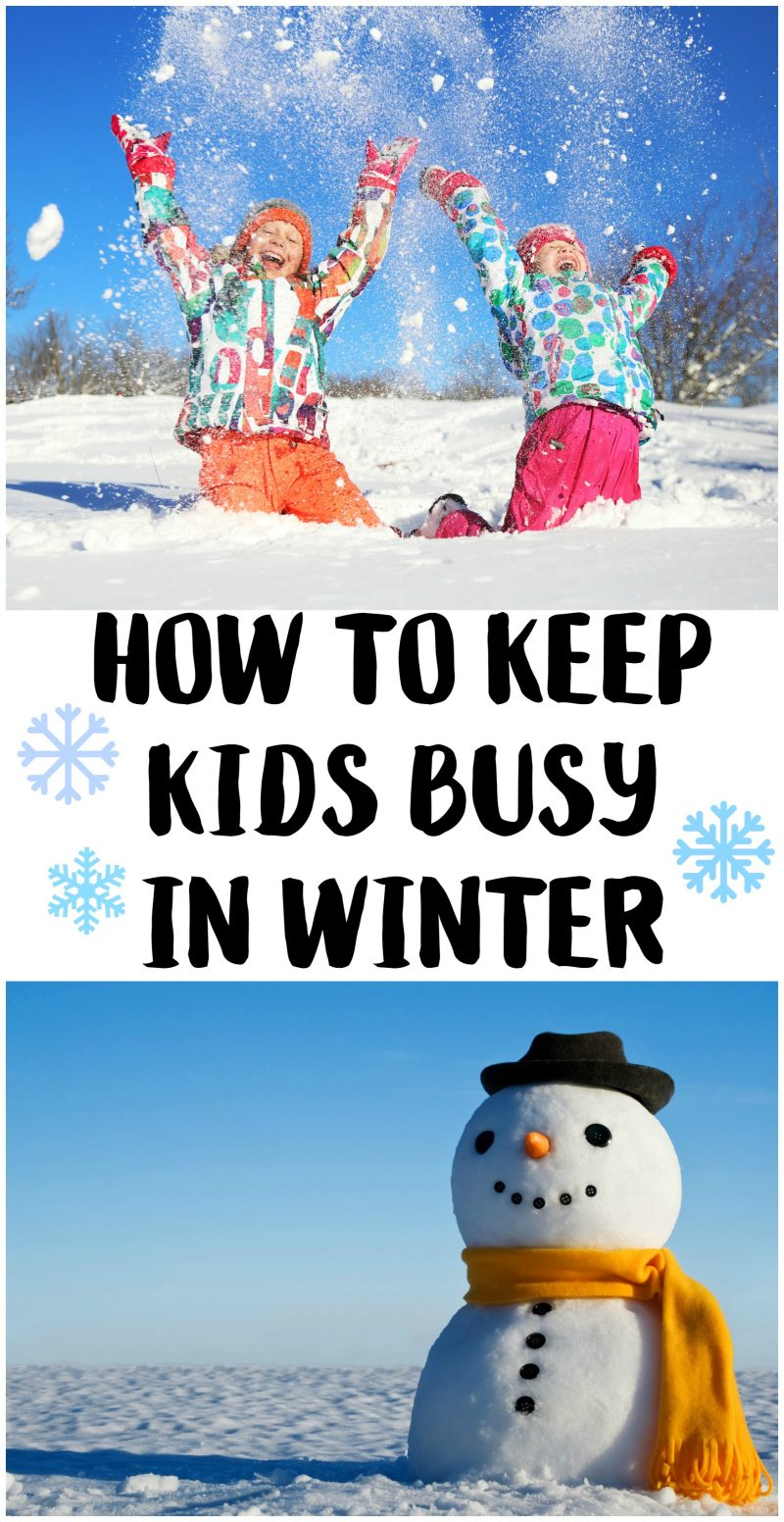 Snow and winter weather ruining your kid's fun? These ideas for crafts and indoor activities you can do at home are a lot of fun and will keep the boredom at bay until the sun comes back!