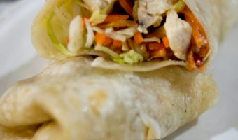 Quick and Easy Italian Chicken Wrap Recipe