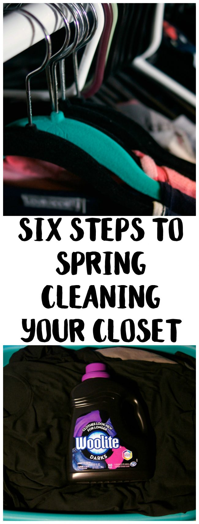 Who else loves when it's time to pull out the warm weather clothes? This year, grab your favorite summer styles and get some bedroom closet organization done at the same time! Learn how to tackle spring cleaning with this list of hacks and tips that will help you declutter and have you marking off your printable spring cleaning checklist in no time. Then, learn about the one change to your laundry routine that will keep your favorite jeans looking perfect for a long, long time.