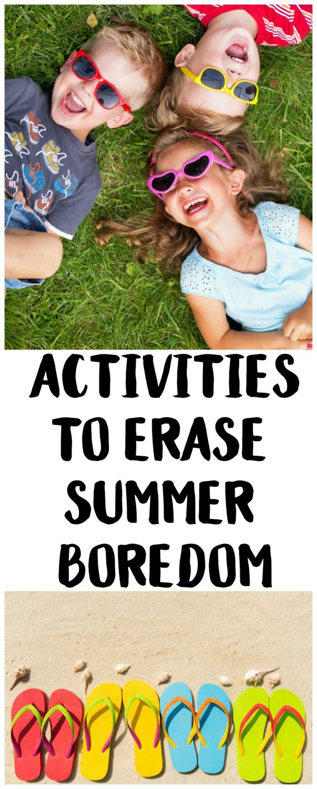 Bored kids at home? These fun summer activities will change that! There's something for everyone, from DIY ideas to cheap excursions. Perfect for boys and girls, toddlers, kids, teenagers, and even adults to have fun this summer!