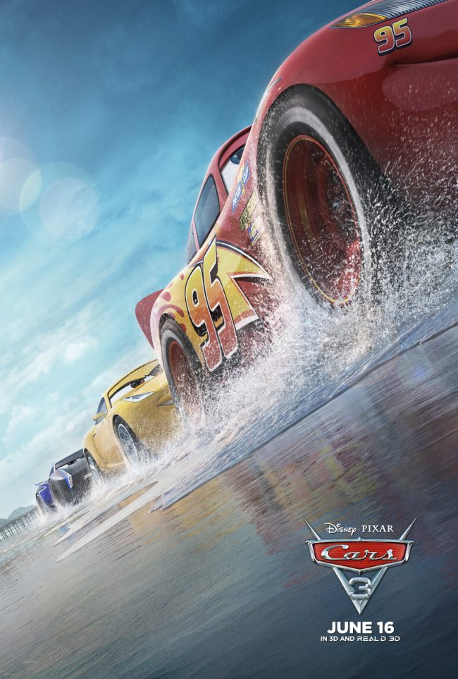 The new Disney Pixar movie Cars 3 is finally in theaters! With even more fun characters and lots of heart, this movie is sure to inspire birthday parties, crafts, and DIY masterpieces for years to come! In the meantime, check out the trailer and poster, grab some free printable activity pages and find out how we made Lightning McQueen inspired donuts!