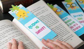Free Printable Pineapple Bookmarks