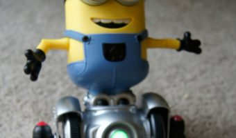 Holiday Gift Idea for Minions Fans: MiP Turbo Dave from WowWee!