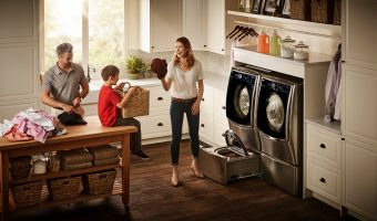 Tackle Laundry Right Away with the LG TwinWash System!