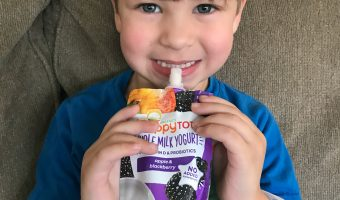 Keeping Kids Going with HappyTot Whole Milk Yogurt