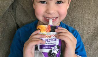 Keeping Kids Going with HappyTot Whole Milk Yogurt