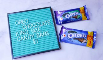 Save Big on OREO Chocolate King Size Candy Bars at Walmart!