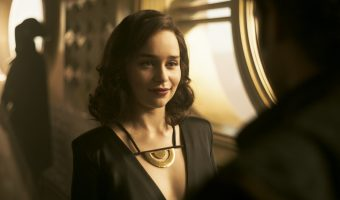 Exclusive Interview With Emilia Clarke {Qi'ra in Solo: A Star Wars Story!}