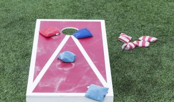 22 Awesome DIY Backyard Games