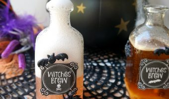 Free Printable Halloween Witches Brew Labels