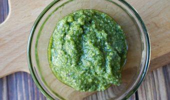 One Step Homemade Pesto Recipe