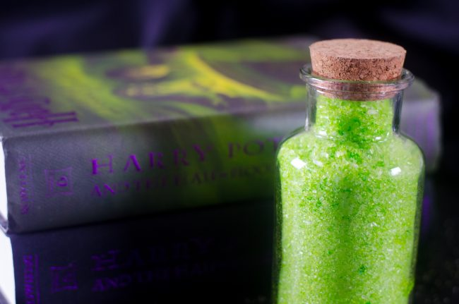 If you love Harry Potter as much as I do, you won't want to miss this fun and easy crafts inspired by one of the most famous potions- Polyjuice Potion! Even Professor Snape would be impressed at how easy these DIY bath salts are to make- they'd be the perfect birthday party craft and would even make great gifts!