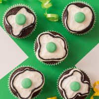 Green Eggs & Ham Cupcakes