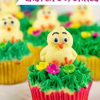 Easy Easter Cupcakes!