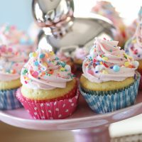 Surprise-Inside Spring Cupcakes