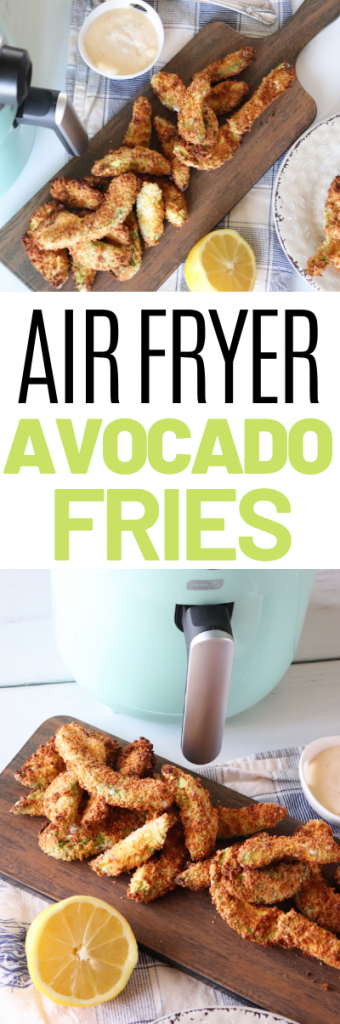 There are so many benefits to having an air fryer machine, from less mess to snacks that are a little more healthy. This easy and delicious Air Fryer Avocado Recipe is the BEST way to get your avocado fix- add these to a salad or serve them as appetizers at your next party!